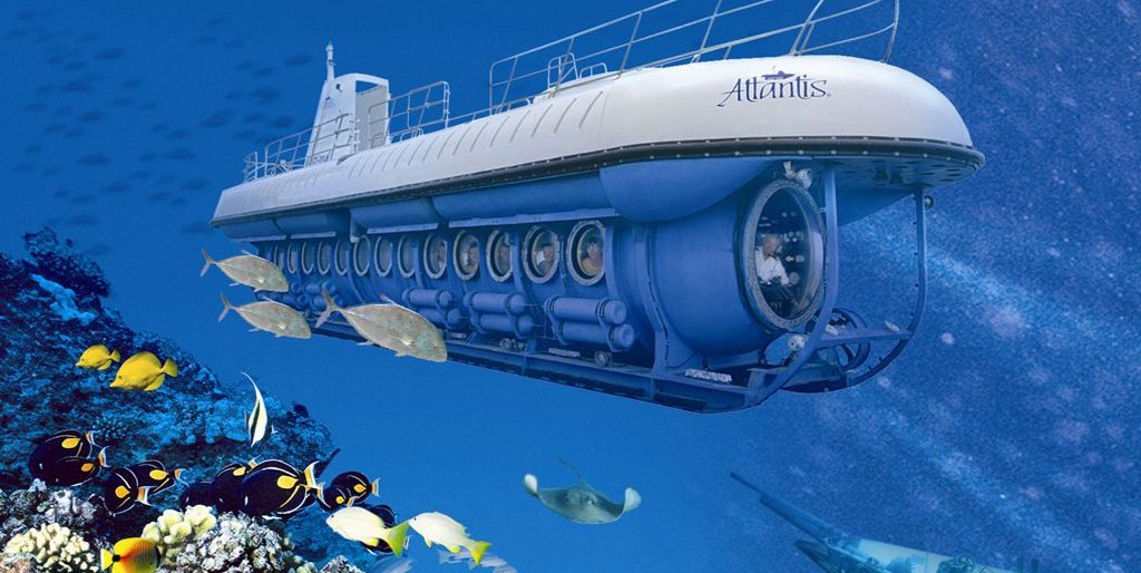 get under the water with the Atlantis Submarine Adventure