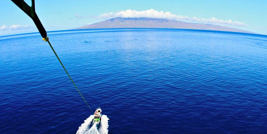 Parasailing on Maui